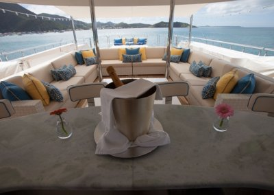 Trending Yacht Top Side Seating